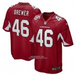 Camiseta NFL Game Arizona Cardinals Aaron Brewer Rojo