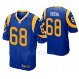 Camiseta NFL Game Hombre St Louis Rams Jamon Marron Azul Amarillo
